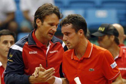 Una España sin sus figuras cae (3-1) ante Brasil y abandona la elite en la Copa Davis