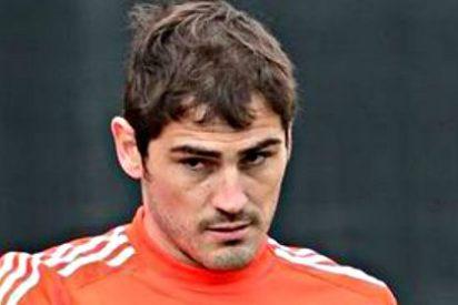 """Carlo Ancelotti: """"Si Iker Casillas juega en la portería del Real Madrid es porque es el mejor""""."""