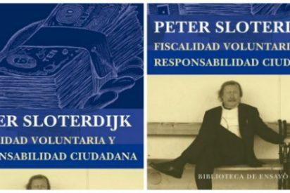 Peter Sloterdijk propone una original solución a la crisis: que los impuestos sean voluntarios