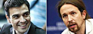 Pablo Iglesias se pone chulo y reta ahora a un debate cara a cara al socialista Pedro Sánchez