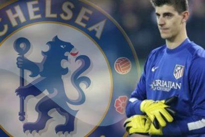 El Chelsea blinda a Courtois