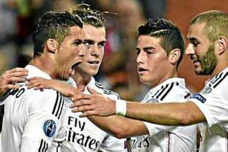 La letal vanguardia del Real Madrid: La BBC y uno más llamado James