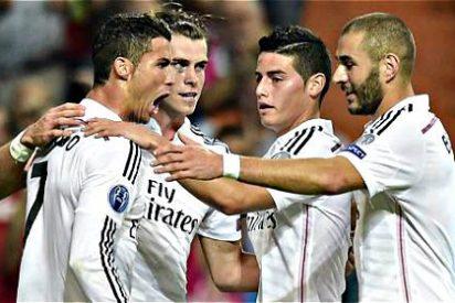 """James Rodríguez: """"Este del 5-1 al Basilea ha sido mi mejor partido desde que estoy en el Real Madrid"""""""
