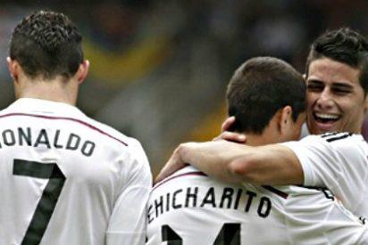 El Real Madrid de Cristiano es una máquina de golear y le endosa 8 a domicilio al Deportivo de La Coruña