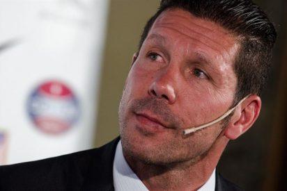 """""""El Calderón discutió por primera vez una decisión de Simeone"""""""