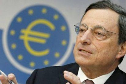 """Jarro de agua fría de Draghi: """"La recuperación económica está perdiendo impulso"""""""