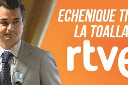 González Echenique tira la toalla al no poder sacar adelante las cuentas de RTVE