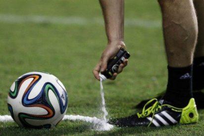 La Bundesliga prohíbe el `spray´ por ser un peligro para la salud