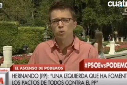 Errejón, el 'niño pera' de Podemos, escurre el bulto de la financiación chavista
