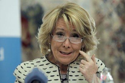 """Esperanza Aguirre: """"El fusilamiento [del concejal del PP] de Cardedeu fue simulado pero el odio, no"""""""