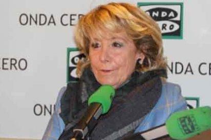 """Esperanza Aguirre: """"Antonio Miguel Carmona es un adversario muy respetable para el PP"""""""