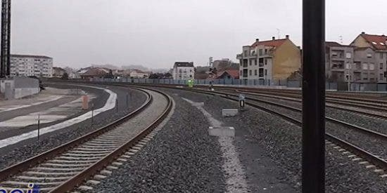 Fallece una mujer tras ser atropellada por un tren en Vilagarcía
