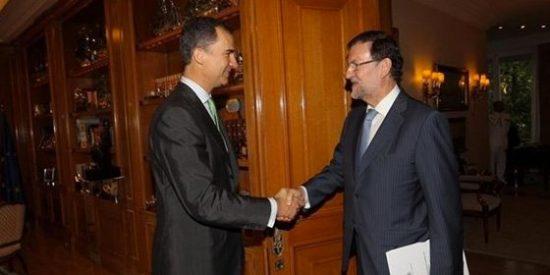 Camacho insinúa que el Rey presiona a Rajoy y Sánchez para que se unan contra Mas