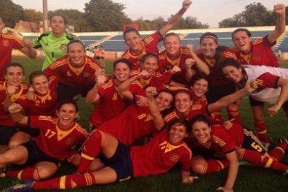 La selección española femenina se clasifica por primera vez para un mundial