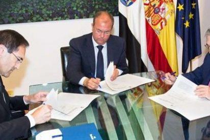 Gobierno extremeño y Liberbank firman un convenio para fomentar la actividad económica y social