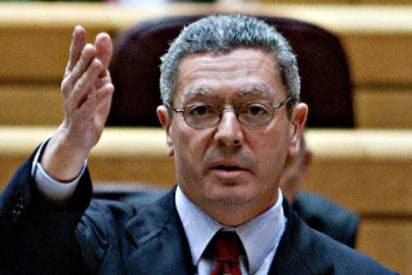 El GAP del ministro Alberto Ruiz Gallardón