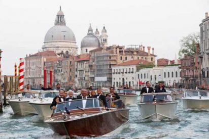Los guapos George Clooney y Amal Alamuddin ya han dado el 'sí quiero' en Venecia