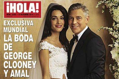 George Clooney y Amal Alamuddin, los recién casados en la portada de ¡Hola!
