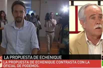 """Chani Pérez Henares coge por la solapa a Podemos: """"Ustedes no son los únicos en denunciar la corrupción"""""""