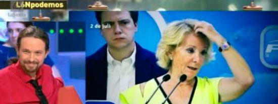 Iglesias retrasa su debate con Aguirre: la lideresa le tiene ganas