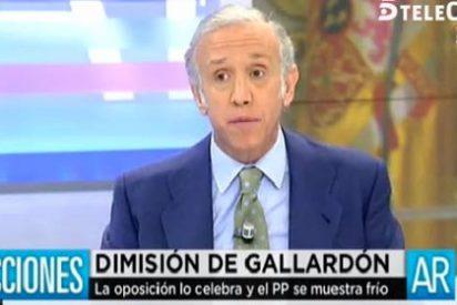 """Inda: """"A Gallardón le han tendido una trampa porque no toleran que no interviniera en el tema Bárcenas"""""""