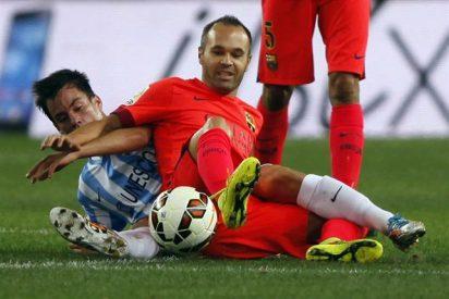 El Barça no dispara ni en legítima defensa y se deja dos puntos en Málaga