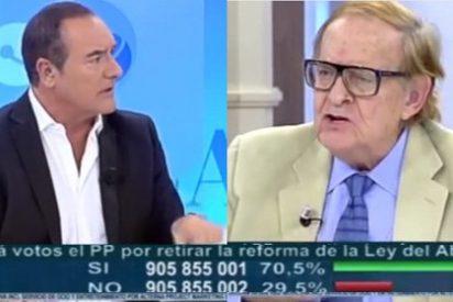 """Antonio Jiménez monta en cólera con Tamames: """"No puedes decir que el síndrome de Down es una desgracia"""""""