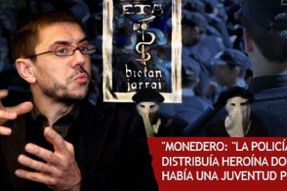 Desmontando las mentiras de Monedero sobre ETA, la Policía y la droga