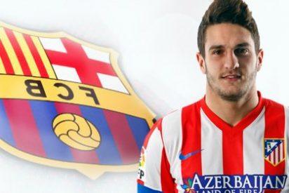 Tebas recomendó al Atlético vender a Koke al Barça