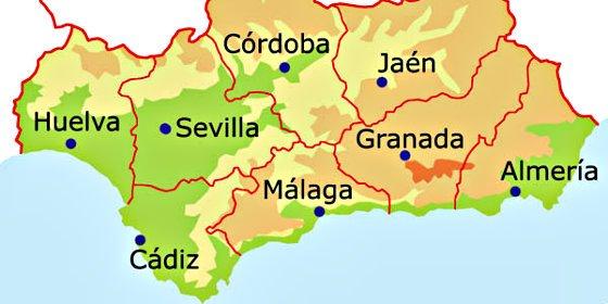 Pueblos De Huelva Mapa.El Pp Entrega En Canal Sur Un Mapa De Huelva Para Evitar Mas