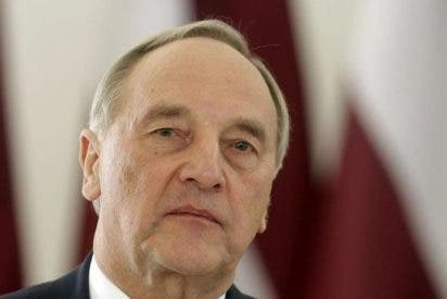 Francisco y el líder de Letonia, preocupados por la guerra en Ucrania