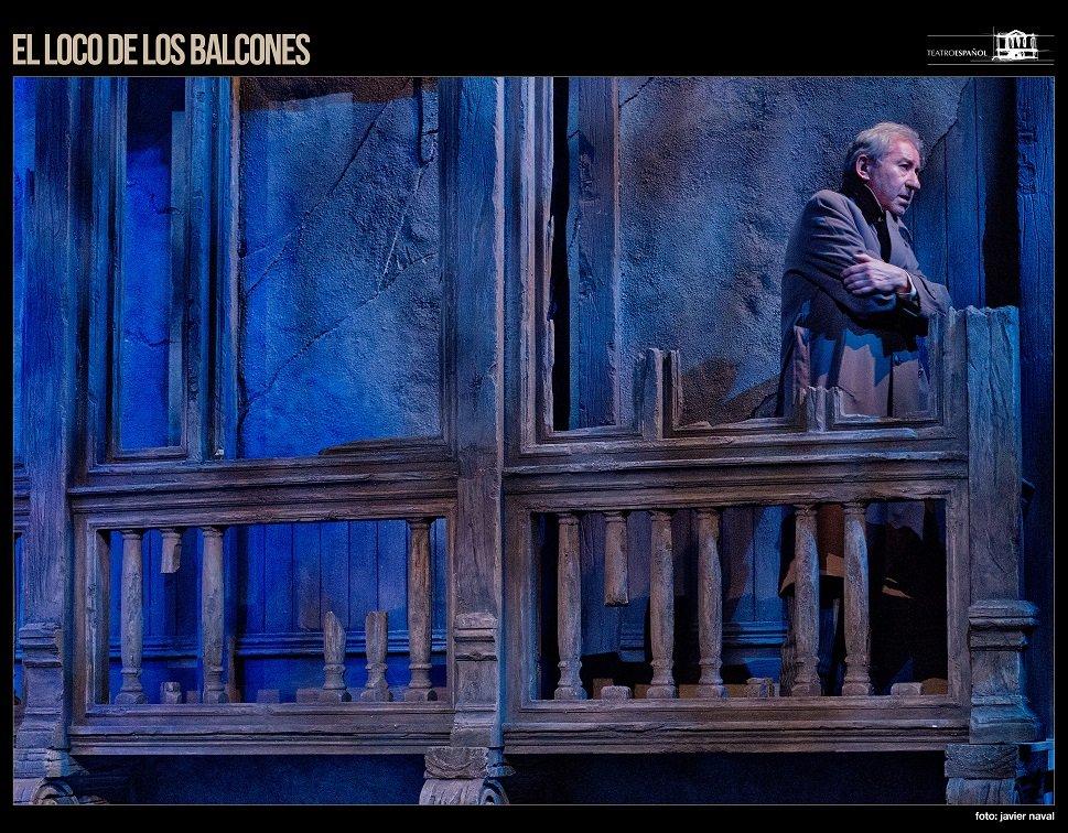El loco de los balcones y Vargas Llosa