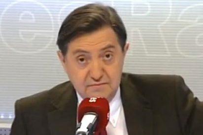 """Losantos: """"TVE es esa máquina de robar y arruinarnos a todos"""""""