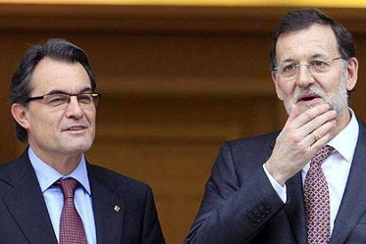 Mariano Rajoy y Artur Mas: Listos para la colisión