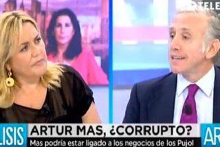"""Inda se harta de Mayka Navarro y su defensa de Mas: """"Pareces su abogada"""""""