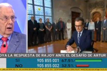 """Un jurista califica de """"payasada"""" que Artur Mas saque las urnas a la calle"""