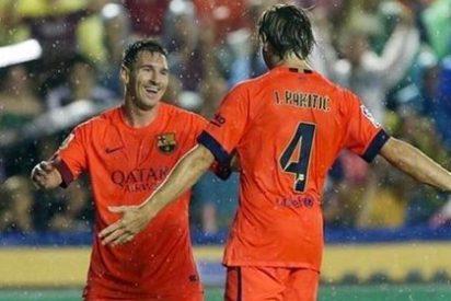 El Barça de Luis Enrique sigue intratable y se pasea en el Ciudad de Valencia (0-5)