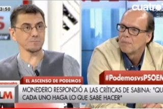 Jaime González pone en su sitio a Monedero tras recomendar el de Podemos a Sabina y Vargas Llosa que no opinen de política