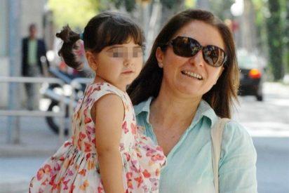 La soprano Montserrat Martí celebra feliz el tercer cumpleaños de su hija Daniela