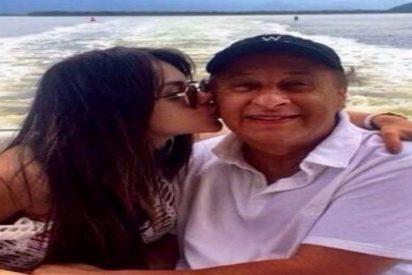 El veterano presidente de la CBF presume de su pareja... ¡50 años menor!
