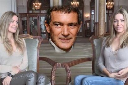 Nicole y Bárbara Kimpel, las gemelas con las que ha terminado 'liado' el bello Antonio Banderas