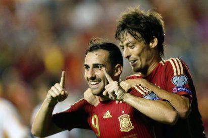 España le casca una goleada a Macedonia que reconcilia a 'La Roja' con la hinchada