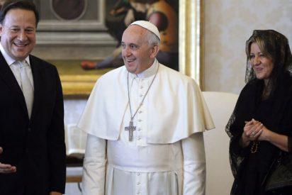El Papa y el presidente de Panamá debaten sobre la Cumbre de las Américas