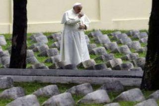 """El Papa ante los caídos de la I Guerra Mundial: """"La guerra es una locura"""""""