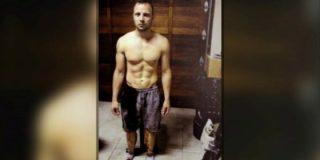 Así encontraron a un ensangrentado Pistorius tras el asesinato de su novia la modelo