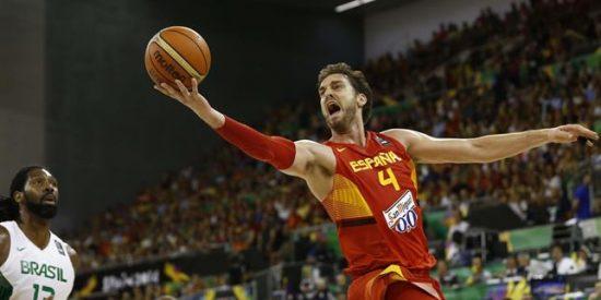 Copa del Mundo de Baloncesto: España arrolla a Brasil y manda un aviso a Estados Unidos
