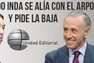 Otro hombre fuerte del 'arponero' Pedrojota que abandona el barco de El Mundo: Eduardo Inda pide la baja