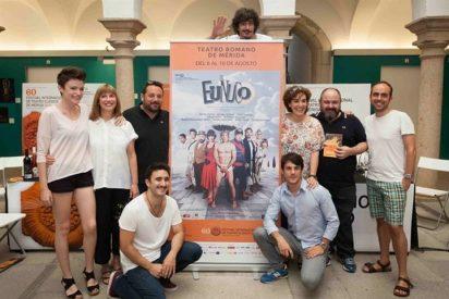 """Pepón Nieto, Anabel Alonso y Alejo Sauras al Teatro Romano de Mérida con """"El Eunuco"""""""