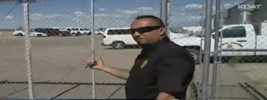El increíble vídeo del fantasma en una comisaría de Policía encantada