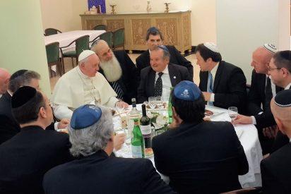 El Papa aborda con líderes judíos de todo el mundo el aumento del extremismo religioso